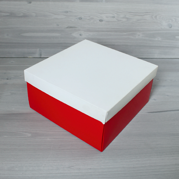 Красная с белой крышкой 10,5x1...