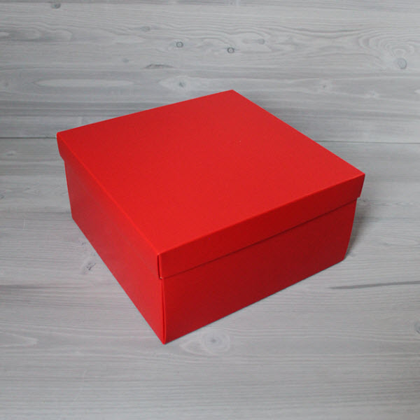 Красная 15x15x10 см