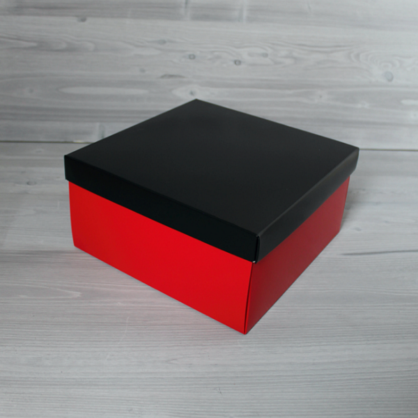 Красно-черная 10,5х10,5х5 см